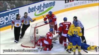Česko - Švédsko: semifinále MS v hokeji 2011 (obsáhlý sestřih)