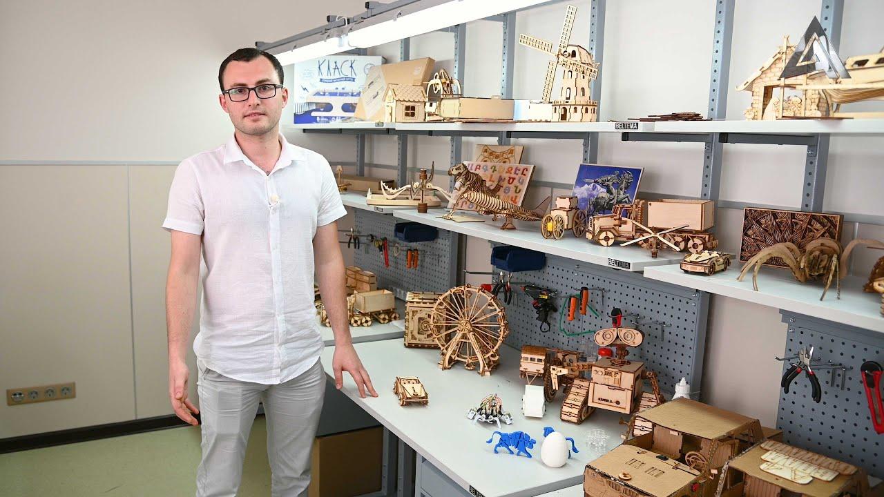 Открыт набор в кружок робототехники и 3D моделирования в центе им. Ованеса Туманяна