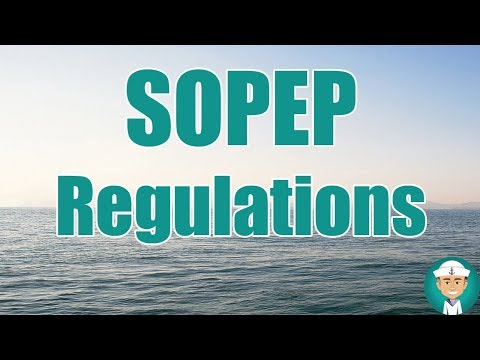 SOPEP Regulations