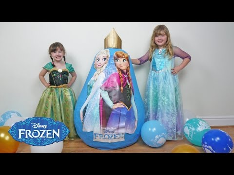Thumbnail: NEW 2016 FROZEN SUPER GIANT EGG SURPRISE Fun Toys Video for Kids The Disney Toy Collector