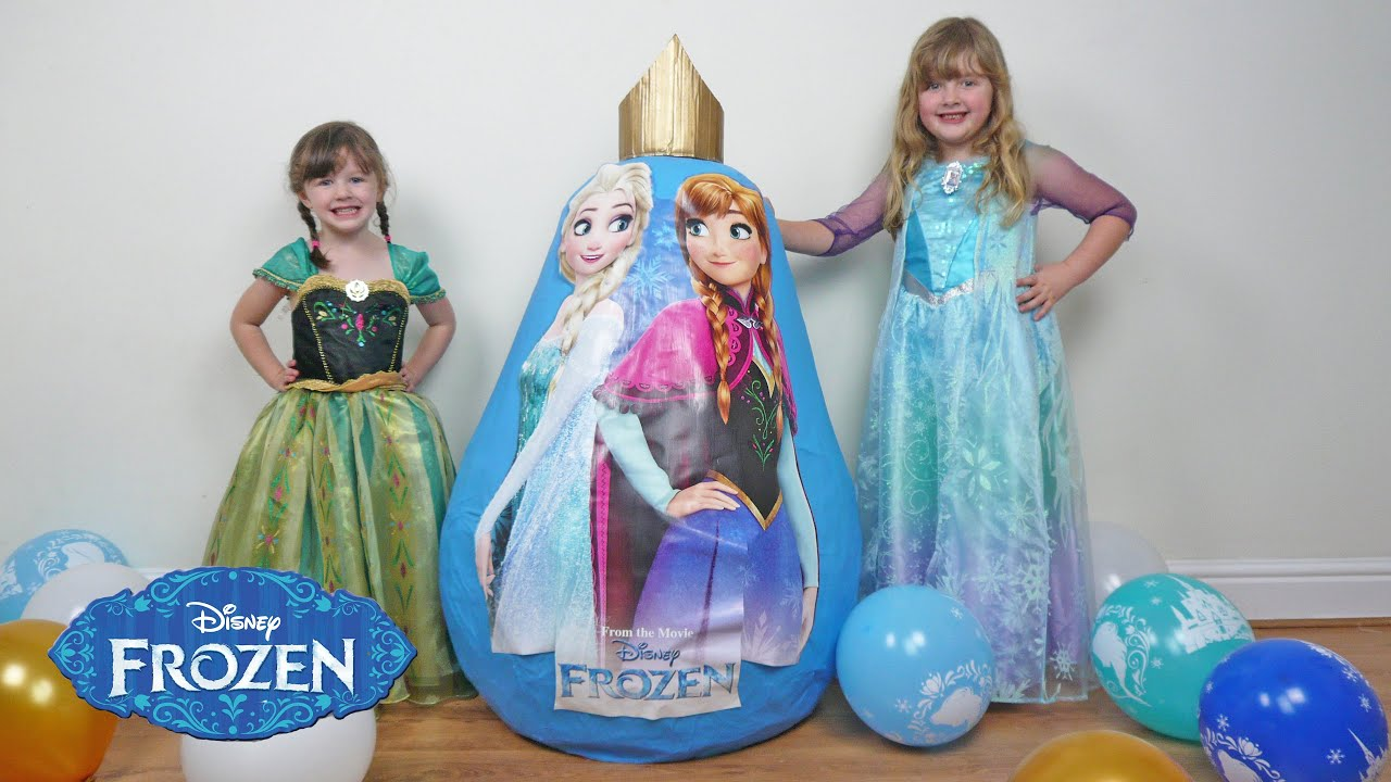 New 2016 Frozen Super Giant Egg Surprise Fun Toys Video