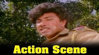 Vazhkai Chakkaram Movie : Sathyaraj Action Scene