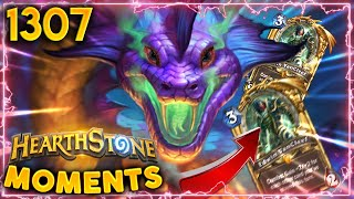 IMAGINE MAKING A 50/50 Edwin, BUT THIS HAPPENS | Hearthstone Daily Moments Ep.1307