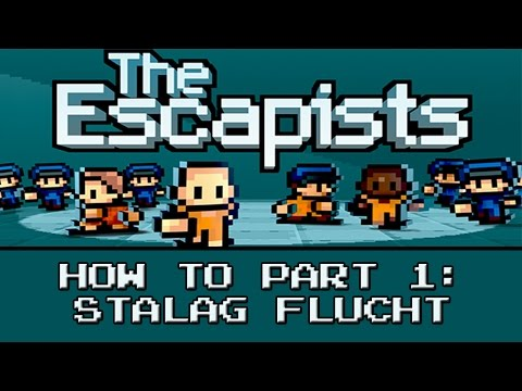"""The Escapists   How To Escape: """"Stalag Flucht"""" - Day 1 of 2 (Xbox One Gameplay)"""