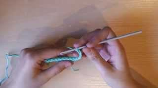 Вязание крючком: столбик с двумя накидами, столбик с тремя накидами