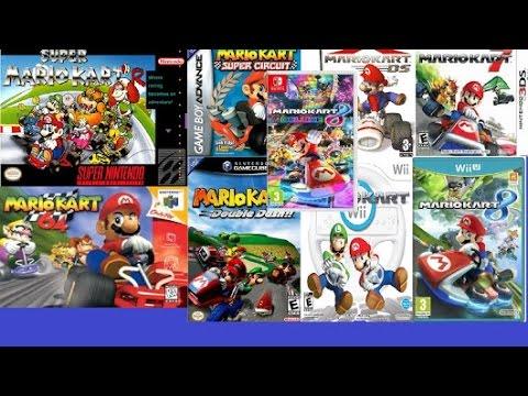all Mario Kart Commercials (1992-2017) - YouTube