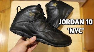 EARLY LOOK! Jordan 10 'NYC' Review & on Feet