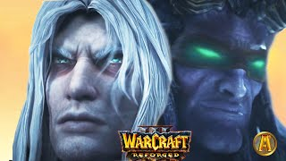 Arthas Kills Illidan Cinematic - Final Battle [Warcraft 3: Reforged]