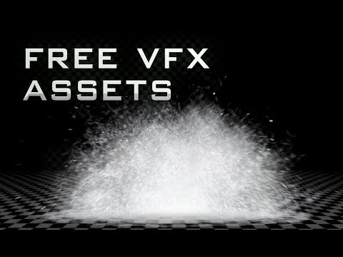 Free VFX Assets: Water Blast Pack