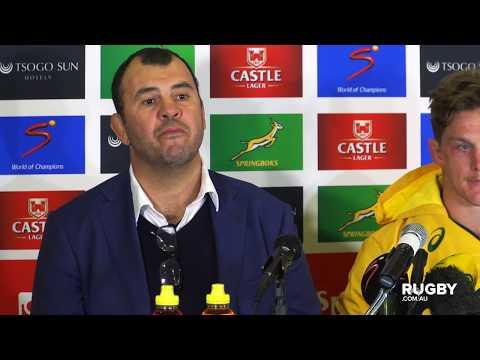 TRC 2019: Wallabies press conference, Johannesburg