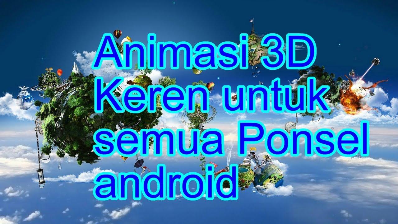 Download 9900 Koleksi Wallpaper Animasi Keren 3d HD Terbaru