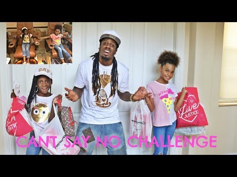 IF KIDS WERE IN CHARGE! Dad can't say NO for 24 HOURS Challenge With iLani And Yaya!