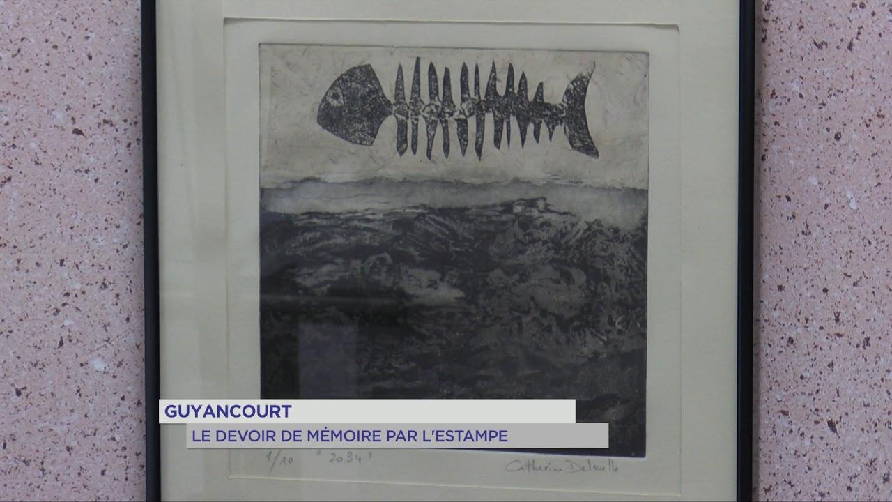 Guyancourt : Le devoir de mémoire par l'estampe