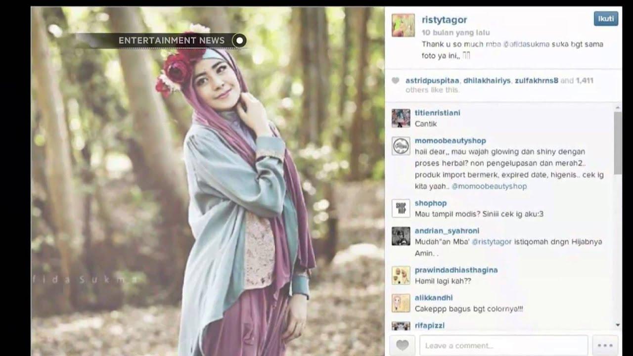 Risty Tagor Membuka Butik Busana Muslim YouTube