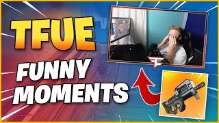 TFUE Funny Moments - TFUE Highlights Fortnite Best Moments (SEASON 5)