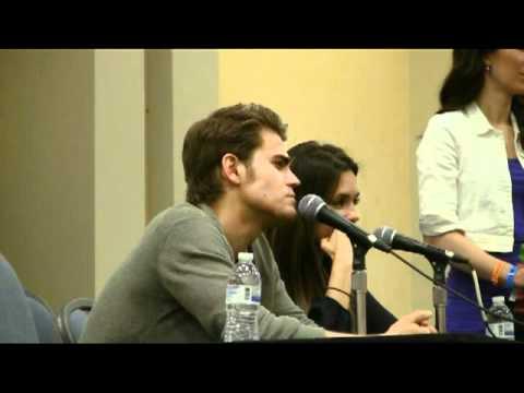 The Vampire Diaries Panel Wizard Con Philadelphia