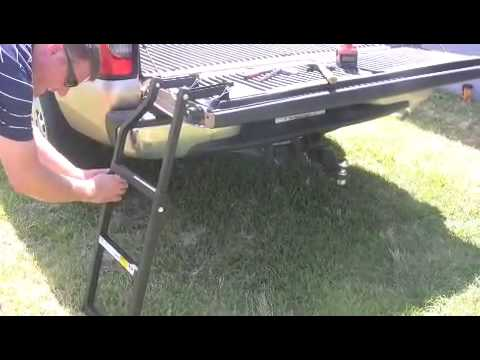 Tailgate Ladder Installation Youtube