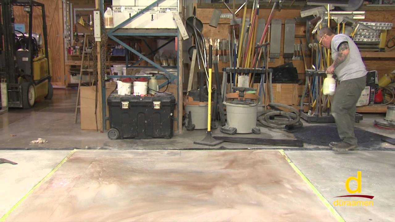 How to install Stampable Concrete Overlay - Part 3