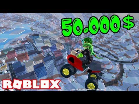 50.000$ ATV İLE MAPİN ÜSTÜNE ÇIKTIK / Roblox Jailbreak #7 / Oyun Safı