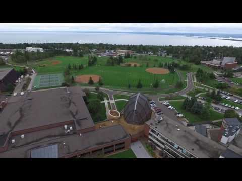 University of Minnesota Duluth drone video