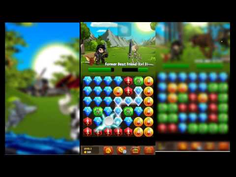 Battle Gems (Adventure Quest) First Game Play HD