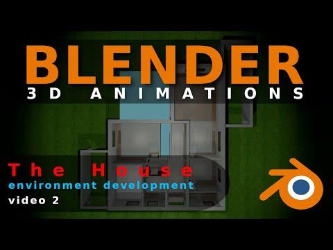 Blender Animation The House Video 2