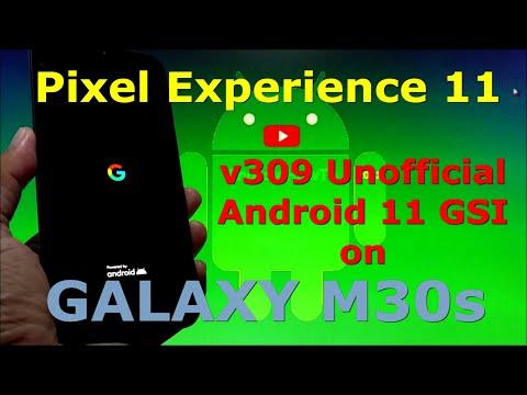 Pixel Experience 11 v309 on Samsung Galaxy M30s GSI ROM