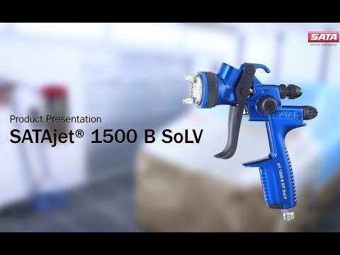 SATAjet 1500 B SoLV - Product Presentation (EN)