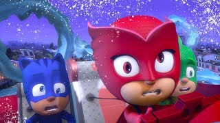 パジャマスク PJ MASKS - ゲッコー クリスマスをすくう |  子供向けアニメ