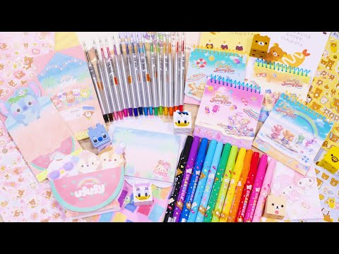 Mega Kawaii Character Stationery Haul | Rilakkuma, Gudetama, Duffy & Friends, and Ufufy!
