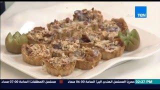 مطبخ 10/10 - الشيف أيمن عفيفي - الشيف نهلة شوقي - طريقة عمل كنافة التمر