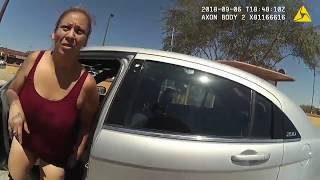 Arizona police department releases body-cam footage of punching incident