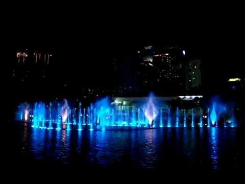KLCC Musical fountain (Kuala lumpur, Malaysia)