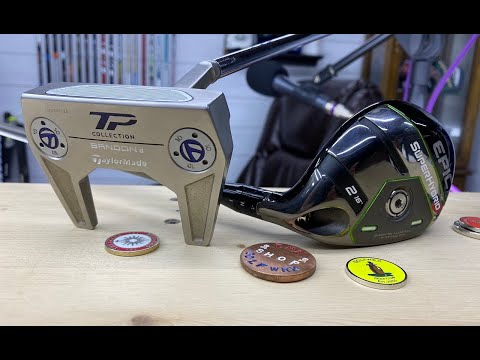 Club Junkie: Callaway Epic Super Hybrid and TaylorMade TP Hydro Blast Putter Reviews
