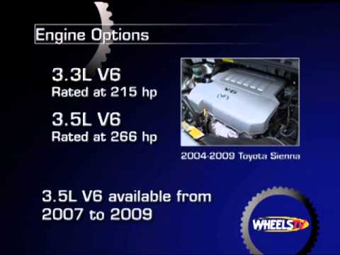 2004-2009 Toyota Sienna Pre-Owned Vehicle Review