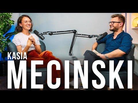 Kasia Mecinski o pracy z Gonciarzem, Polonii w USA i młodości w Polsce