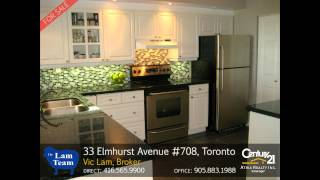 33 Elmhurst Avenue Unit #708, Toronto - Home for Sale by The LAM Team