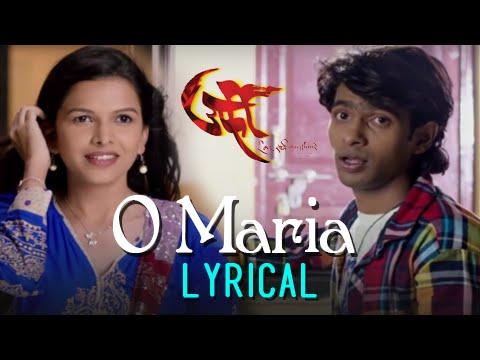 O Maria | Song With Lyrics | Urfi | Prathamesh Parab, Mitali Mayekar