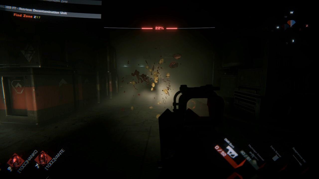 GTFO - New Enemy Reveal Gameplay Trailer (Shadow)
