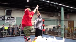 Lehigh Valley Wrestling - Gunny Carson vs. Easton Assassin (WJW III) 11/3/2013