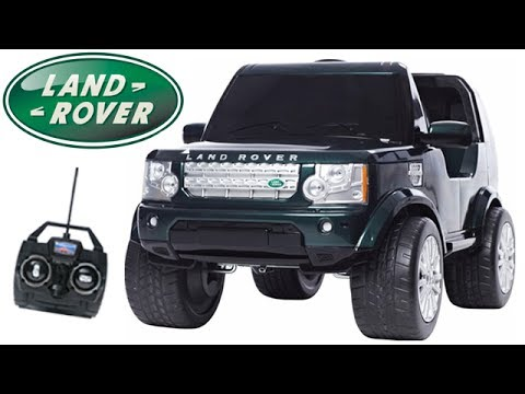 Licensed Kids Land Rover Discovery Ride On Jeep Youtube