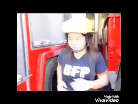 Lady fire truck driver in Balingasag misamis oriental Philippines
