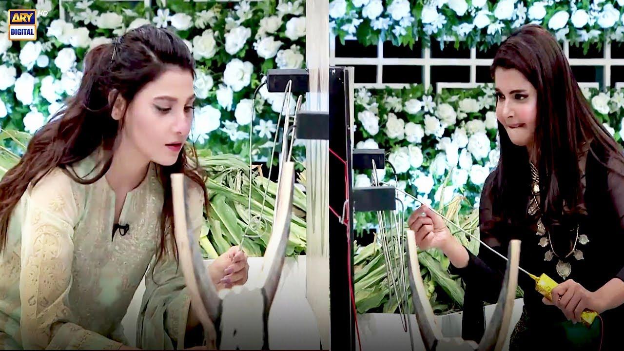 Janwar Ko Khana Khilana Hai Lekn... | Game Segment | Good Morning Pakistan | ARY Digital