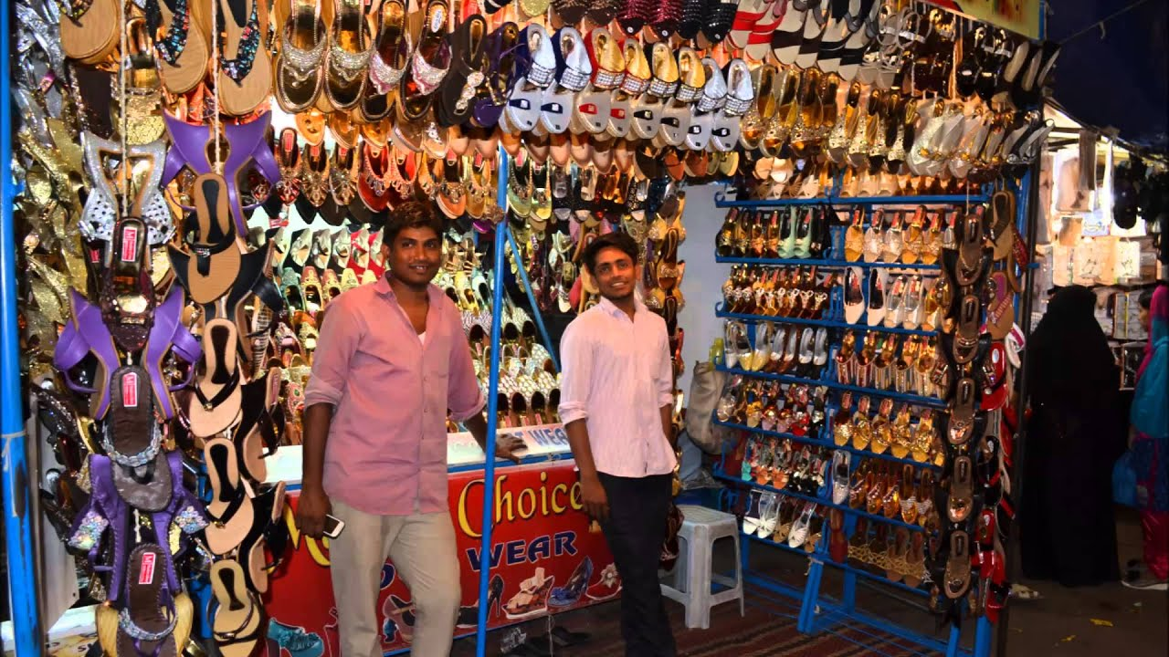 Ramzan Shopping In Charminar Hyderabad Telangana