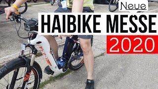 Messebesuch : HAIBIKE / WINORA 2020 er Modelle inkl. FAZUA