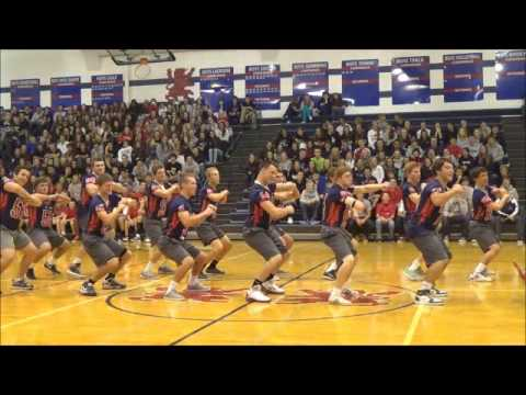 Saint Viator football team dance