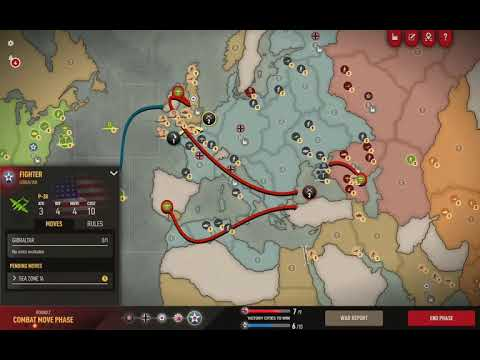 Axis and Allies 1942 Online: Recovering from a bad opener #2 |