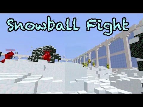 Minecraft / Snowball Fight / Minigame / GamerChad Plays