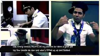 "AIR INDIA RAP ""A VIRAL  SONG OF PILOT"""