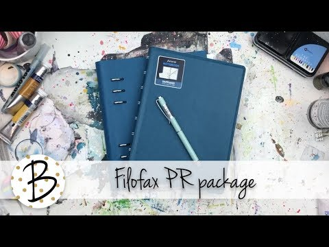 Opening My FILOFAX PR Package!